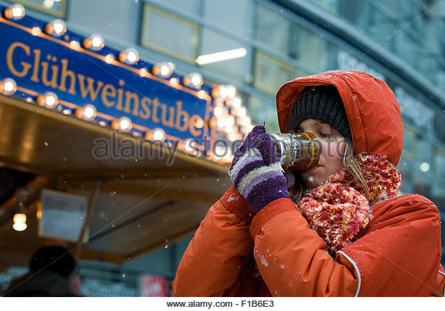 Chemnitz, Germany, the Christmas market of Chemnitz in Saxony - Stock Image