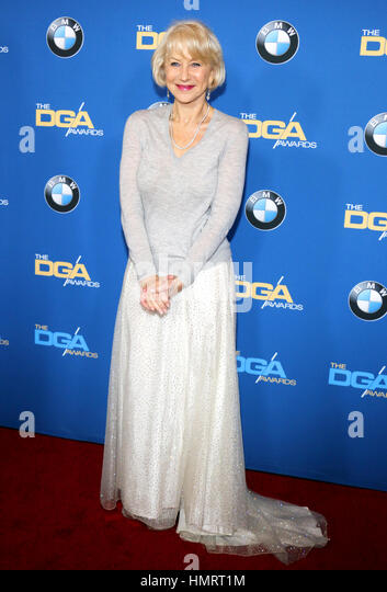 Beverly Hills, USA. 04th Feb, 2017. Helen Mirren at the 69th Annual Directors Guild Of America Awards held at the - Stock Image