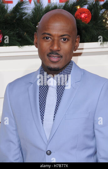 Westwood, CA, USA. 3rd Nov, 2016. 03 November 2016 - Westwood, California. Romany Malco. Premiere Of Universal's - Stock Image