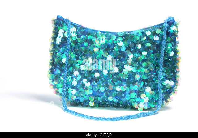 Sequin Handbag - Stock Image