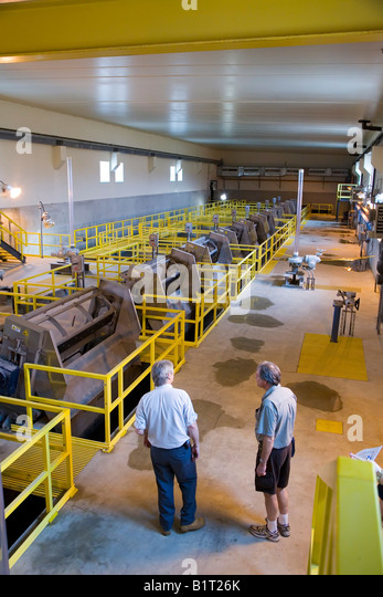 Sewer Overflow Treatment Facility - Stock Image