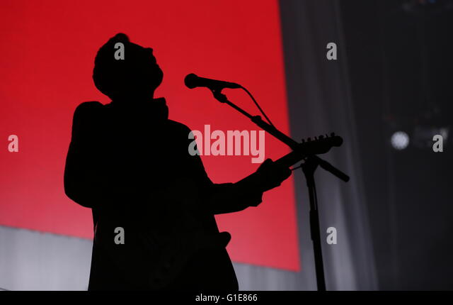 Liverpool, Merseyside, UK. 13th May, 2016. Manic Street Preachers perform live at the Liverpool Echo Arena on the - Stock Image