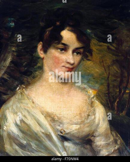 John Constable - Susannah Lloyd - Stock Image