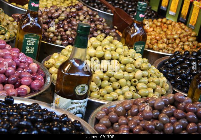 HaCarmel Market, Tel Aviv, Israel - Stock Image