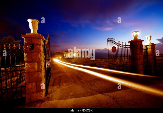 Gate, Long Exposure - Stock Image