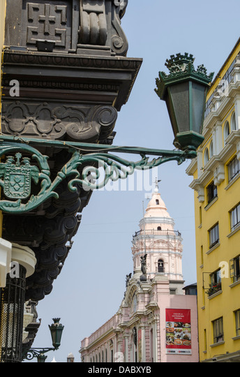 Downtown Lima, Peru, South America - Stock Image