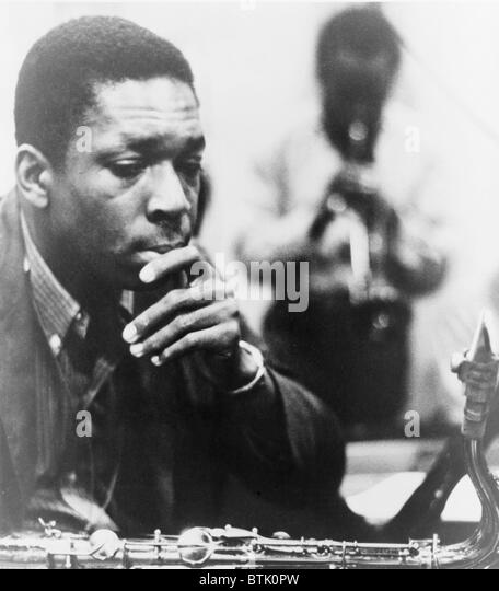 a biography of john coltrane a jazz musician This lyrical picture-book biography of john coltrane focuses on his childhood and how he interpreted sounds before he made his music.