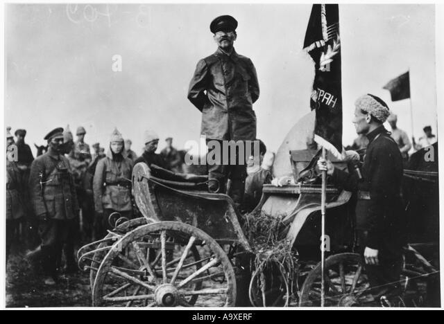 Kalinin Red Army 1920 - Stock Image