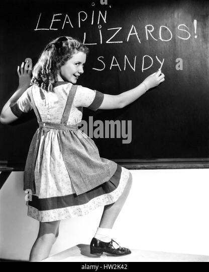 LITTLE ORPHAN ANNIE 1938 Paramount Pictures film with Ann Gillis - Stock-Bilder