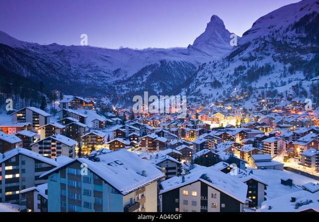 Zermatt, Valais, Switzerland - Stock-Bilder