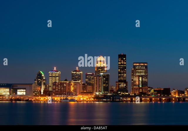 night skyline view of - photo #41