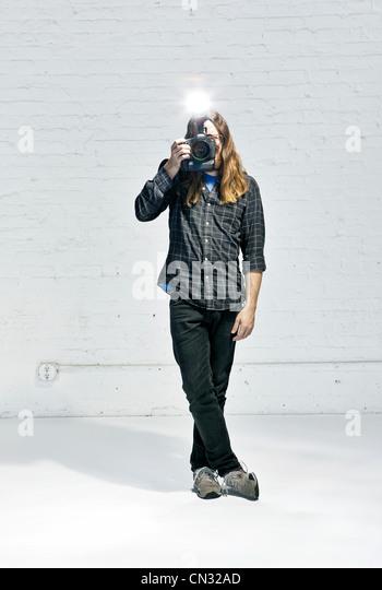Photographer - Stock Image