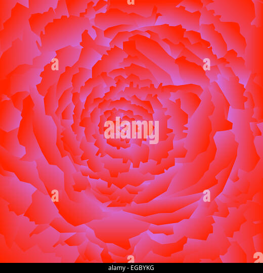 Abstract rose background - Stock-Bilder