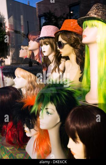 Kims Wig Center wig shop storefront in Asheville North Carolina ...