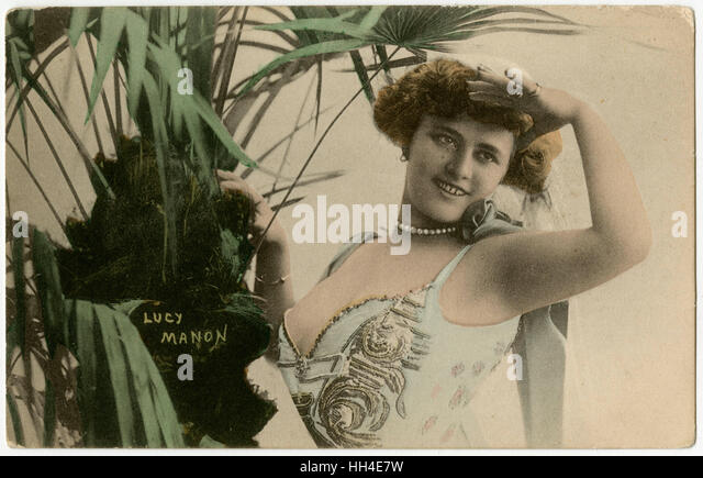 Lucy Manon  Actress - Stock Image