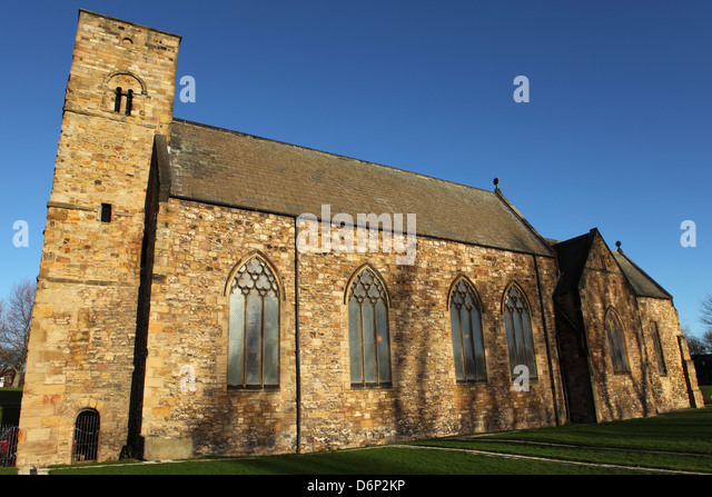 St. Peters Church, one of the UK's oldest churches, Sunderland, Tyne and Wear, England, UK - Stock-Bilder