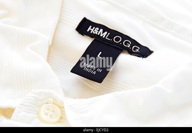 H&M Label - Stock-Bilder