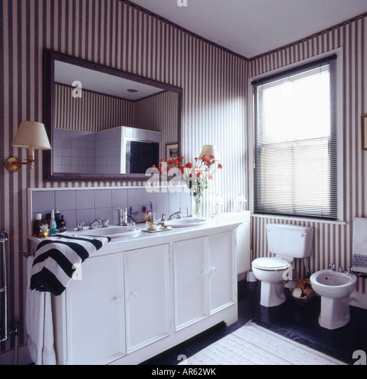 Black N White Bathroom: Bidets Stock Photos & Bidets Stock Images