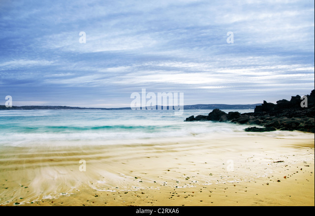 Summer beach - Stock Image