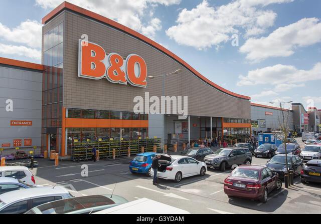 B&Q DIY store - Stock Image