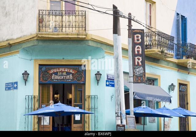Pulperia La Argentina Bar in La Boca District of Buenos Aires, Argentina, South America - Stock Image