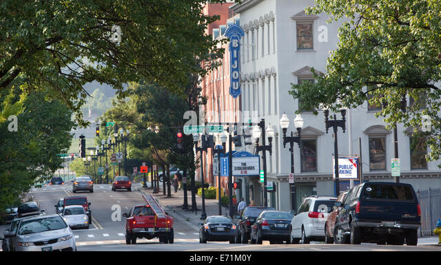 South Gay St, Knoxville, TN - Stock-Bilder