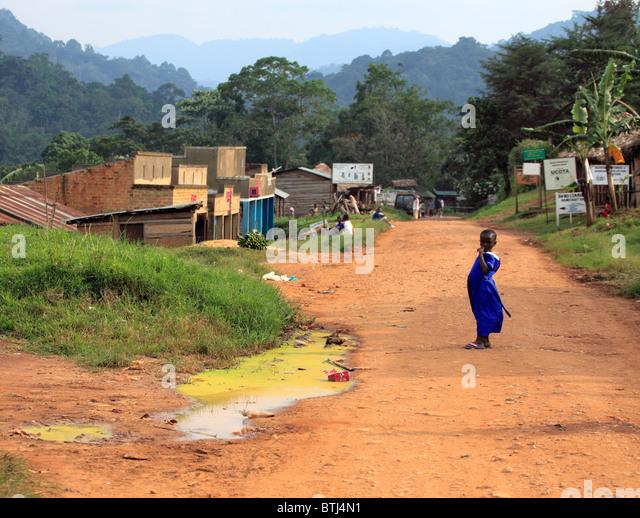 Village, Uganda, East Africa - Stock Image