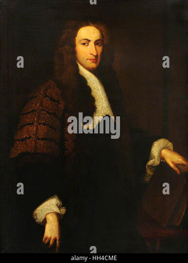 Richard Wiseman, Sergeant-Surgeon to King Charles II (1672-1676) - Stock Image