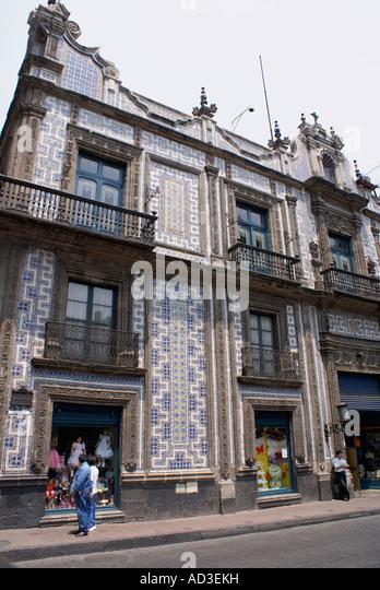 Sanborns department stock photos sanborns department for Casa de los azulejos centro historico