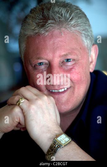 Comedian and BBC radio personality Sean Styles, Liverpool - Stock-Bilder