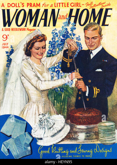 Ww2 woman stock photos ww2 woman stock images alamy for Front of house magazine