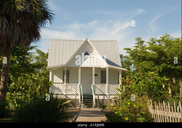 Florida Sanibel Island Historical Village & Museum - Stock Image