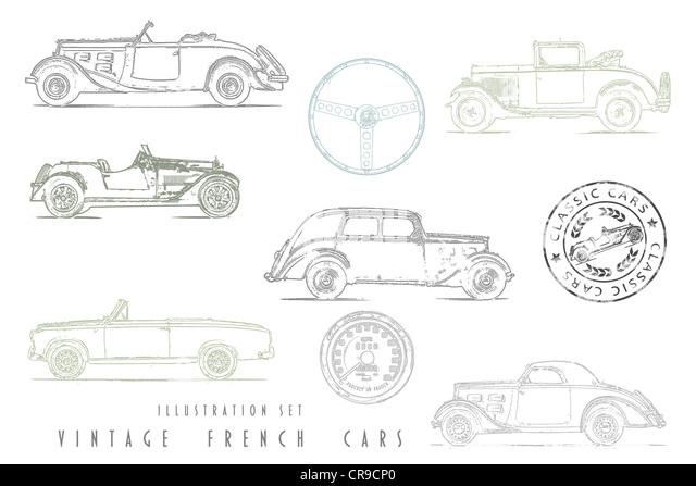 vintage convertible coupe cabriolet stock photos  u0026 vintage