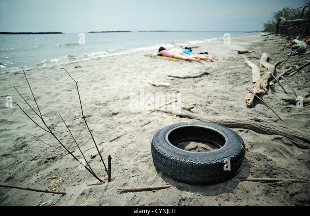Environmental Pollution - Stock Image