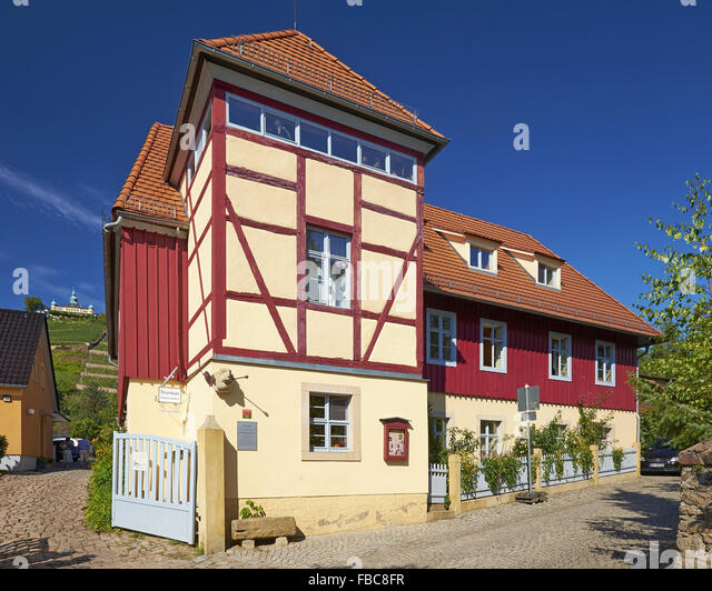 Winery Retzsch Radebeul, Saxony, Germany - Stock Image