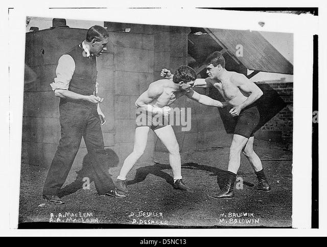 A.A. MacLean, D. Deshler, M. Baldwin (LOC) - Stock Image