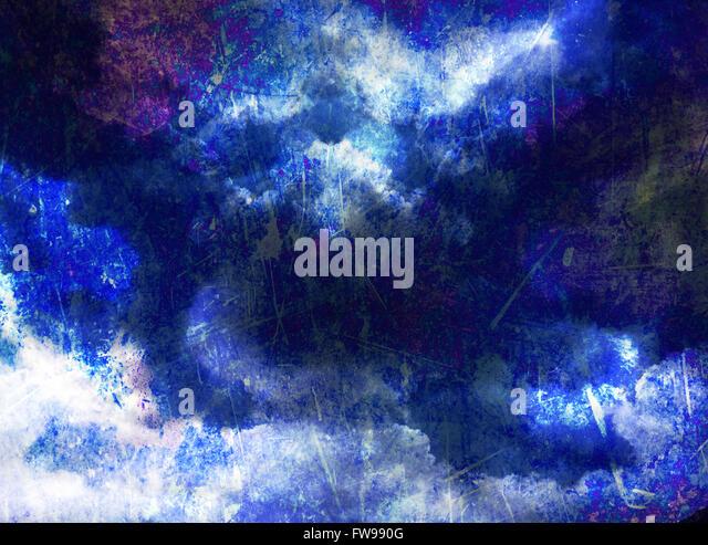 Modern abstract graphic design digital art concept creative - Stock-Bilder