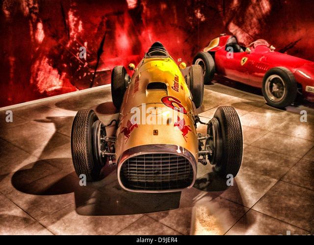 ferrari 1952 racing racer sports car car - Stock Image