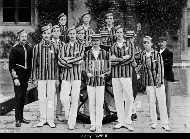 The Royal Military Academy cricket team, 1895 (1896). - Stock Image