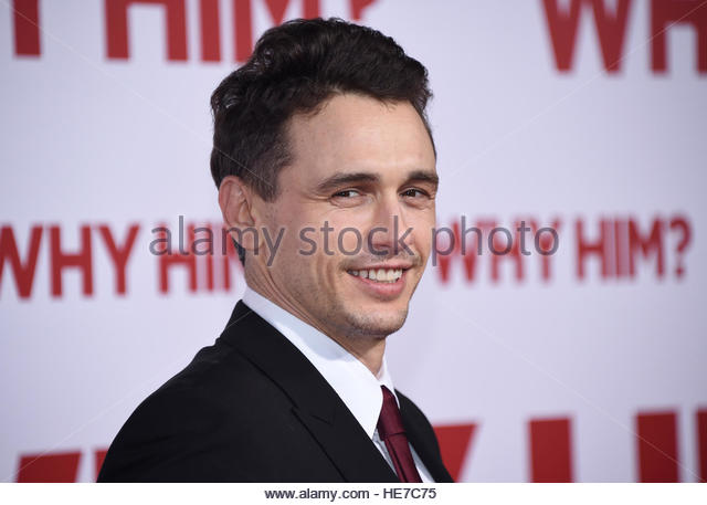 Cast member James Franco attends the premiere of 'Why Him ?' in Los Angeles, California, U.S. December 17, - Stock-Bilder