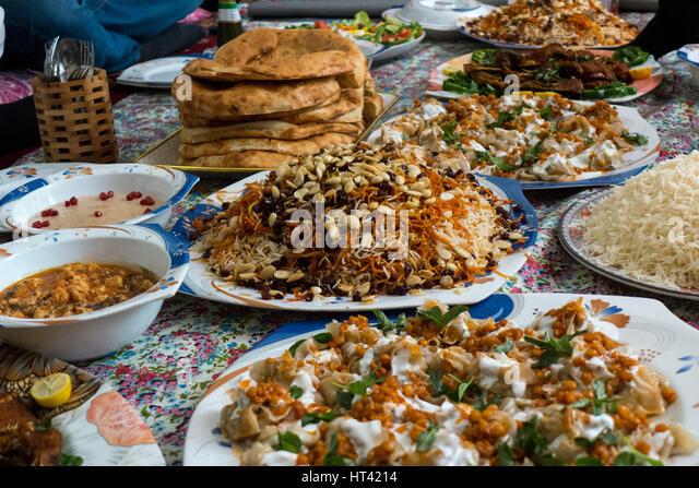 Afghan food stock photos afghan food stock images alamy for Afghanistan cuisine food