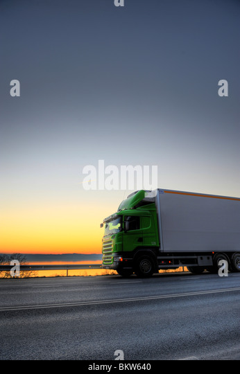Juggernaut against the horizon - Stock Image