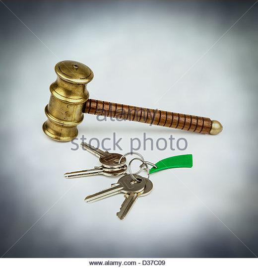property bidding - Stock Image