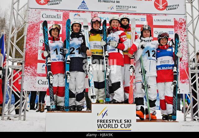 Skiing World Cup Podium Stock Photos & Skiing World Cup ...