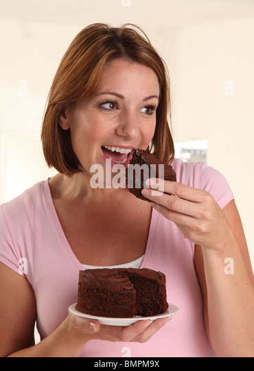 Eating Chocolate Cake Images : Girl Eating Chocolate Cake Stock Photos & Girl Eating ...