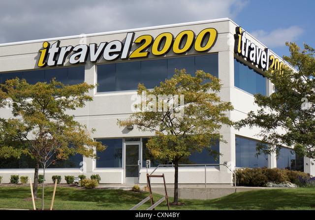 iTravel2000, travel agency office location, Mississauga, Ontario, Canada - Stock-Bilder