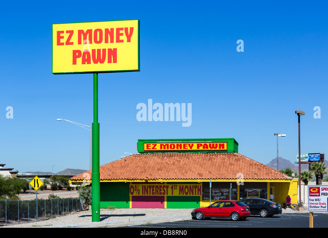 Pawn shop stock photos pawn shop stock images alamy for Ez money pawn jewelry