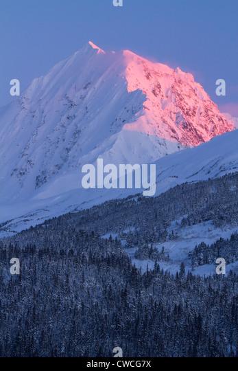 Chugach National Forest, Alaska. - Stock Image
