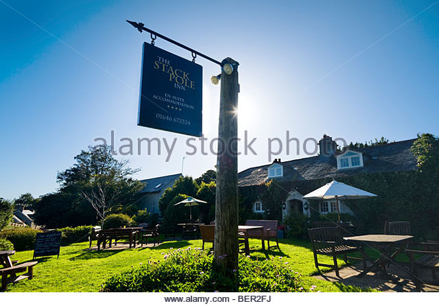 The Stackpole Inn, Stackpole, Pembrokeshire, South Wales, UK. - Stock-Bilder