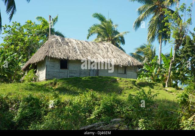Rustic house, Manglita, Cuba - Stock Image